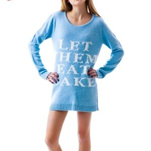 NWT MINKPINK 'Let them eat cake' sweater or jumper